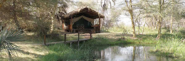Secluded Tented Camp
